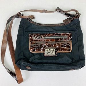 Brighton Nylon Crossbody Messenger Bag